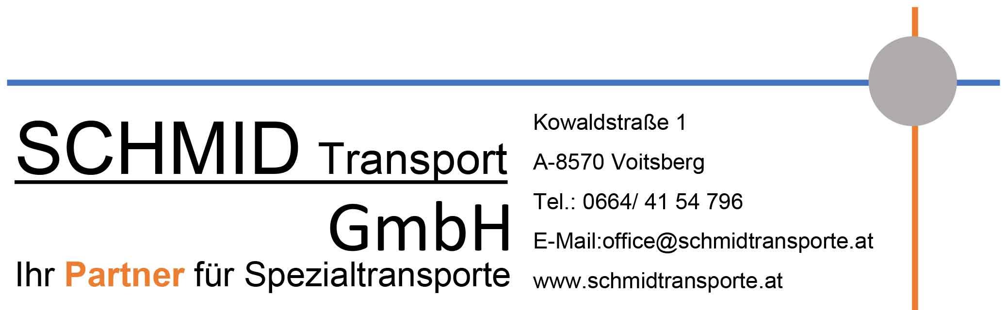 schmid transport